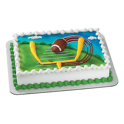 Football Magnet Cake