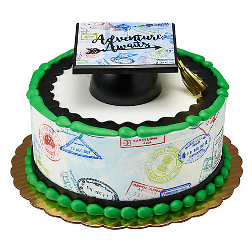H-E-B Adventure Awaits Round Cake, 8 in