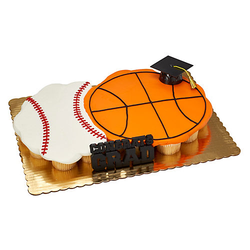 H-E-B Graduation All Star Cupcake Cake, 24 ct