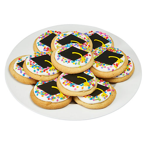 H-E-B Graduation Sugar Cookies