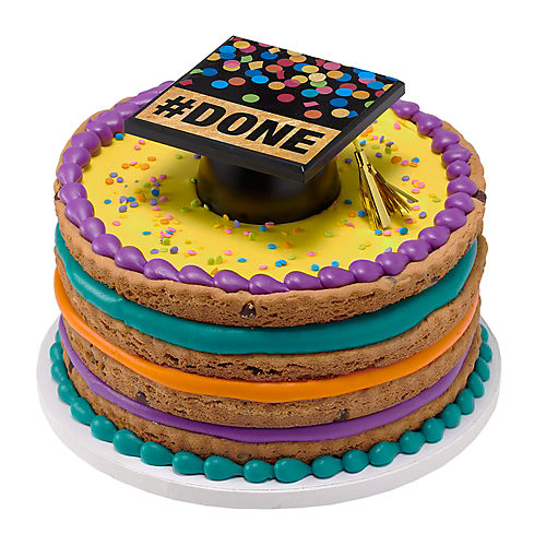H-E-B Stacked Fudge Graduation Cookie Cake, 9 in