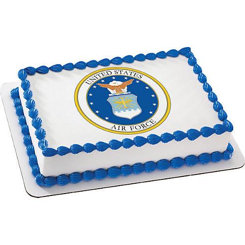 H-E-B U.S. Air Force Emblem Cake