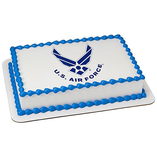 H-E-B U.S. Air Force Logo Cake