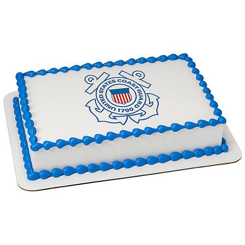 H-E-B U.S. Coast Guard Emblem Cake