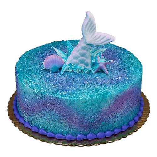 Mermaid Shimmer Cake