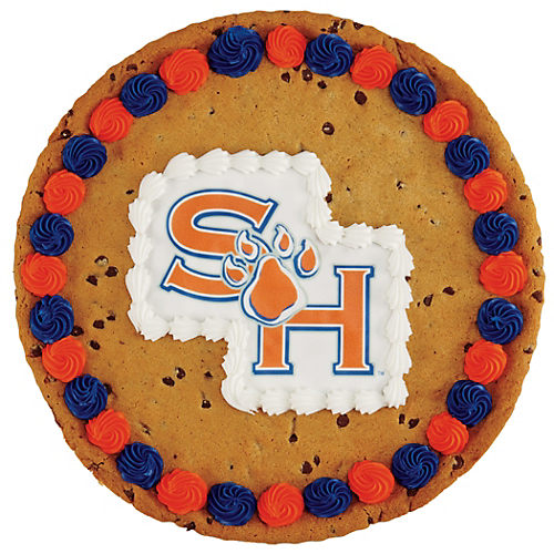 Sam Houston Chocolate Chip Cookie Cake