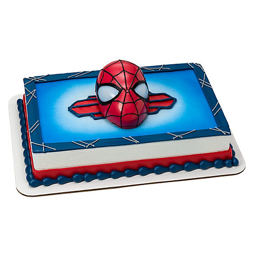 Spiderman With Light Up Eyes Cake