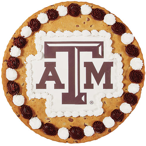 Texas A&M Chocolate Chip Cookie Cake