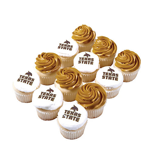 Texas State Cupcakes