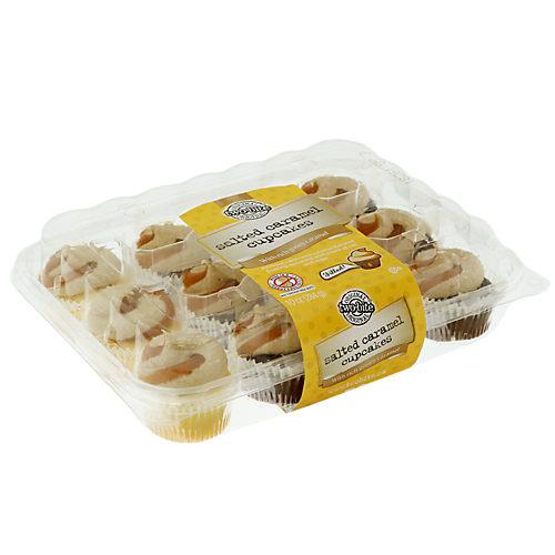 Two-Bite Salted Caramel Premium Cupcakes