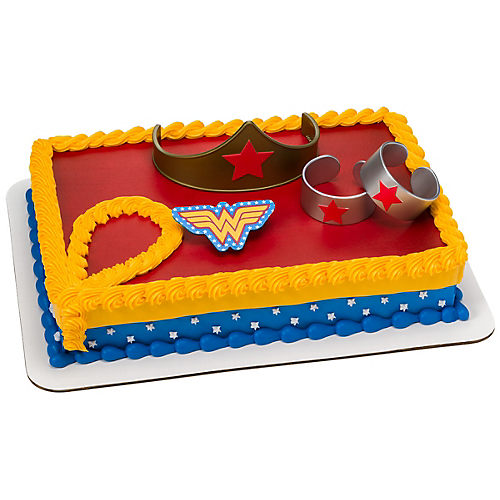 Wonder Woman Strength & Power Cake