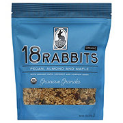 18 Rabbits Pecan ,Almond and Maple Gracious Organic Granola