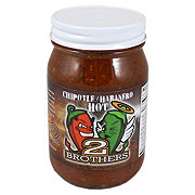 2 Brothers Salsa Chipotle Habanero Hot
