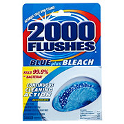 2000 Flushes Blue Plus Bleach Automatic Toilet Bowl Cleaner