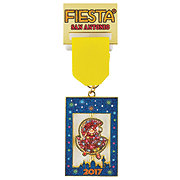 2017 Official Fiesta Poster Medal