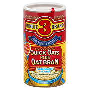 3 Minute Brand Quick Oats Plus Bran