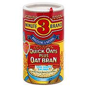 3 Minute Brand Quick Oats Plus Bran