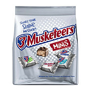 3 Musketeers Chocolate Minis Size Candy Bars Bag