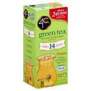 4C Totally Light Green Tea Honey Lemon Pitcher Packets