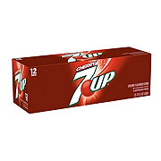 7UP Cherry Soda 12 oz Cans