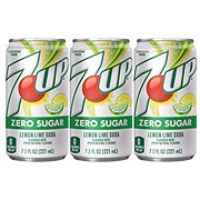 7UP Diet Soda 7.5 oz Cans