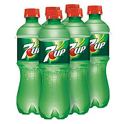 7UP Lemon Lime Soda 16.9 oz Bottles