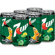 7UP Lemon Lime Soda 7.5 oz Cans