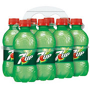 7UP Lemon Lime Soda 8 PK Bottles