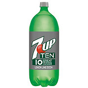 7UP TEN Lemon Lime Soda