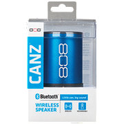 808 Canz Blue Wireless Bluetooth Speaker