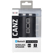 808 Canz Bluetooth Portable Speaker Black