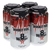 8th Wonder Rocket Fuel Vietnamese Coffee Porter  Beer 12 oz  Cans