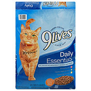 9Lives Daily Essentials Cat Food Salmon Chicken & Beef
