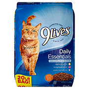 9Lives Daily EssentialsFlavors of Chicken Beef & Salmon Dry Cat Food