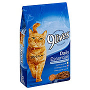 9Lives Daily Essentials with Flavors of Chicken Salmon and Beef Cat Food