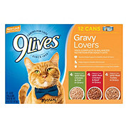 9Lives Gravy Lovers Cat Food Variety Pack