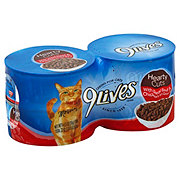 9Lives Hearty Cuts with Real Beef & Chicken in Gravy Cat Food