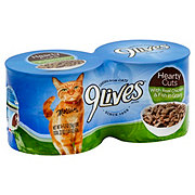 9Lives Hearty Cuts with Real Chicken & Fish in Gravy Cat Food