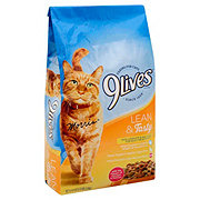 9Lives Lean & Tasty Flavors of Chicken & Salmon Dry Cat Food