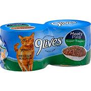 9Lives Meaty Pate Super Supper Cat Food