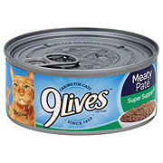 9Lives Meaty Pate Super Supper Cat Food Shop 9Lives Meaty Pate