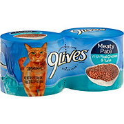 9Lives Meaty Pate with Real Chicken & Tuna Cat Food