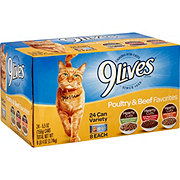 9Lives Poultry & Beef Favorites Cat Food