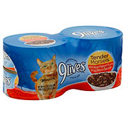 9Lives Tender Morsels Real Flaked Tuna & Egg Bits in Sauce Cat Food