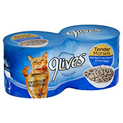 9Lives Tender Morsels Whitefish & Tuna in Sauce Cat Food