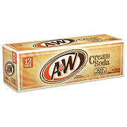 A&W Cream Soda 12 oz Cans