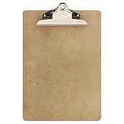 A & W Masonite Clipboard With Clip