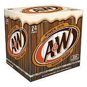 A&W Root Beer 12 oz Cans