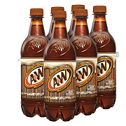 A&W Root Beer 6 PK Bottles