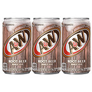 A&W Root Beer 7.5 oz Cans